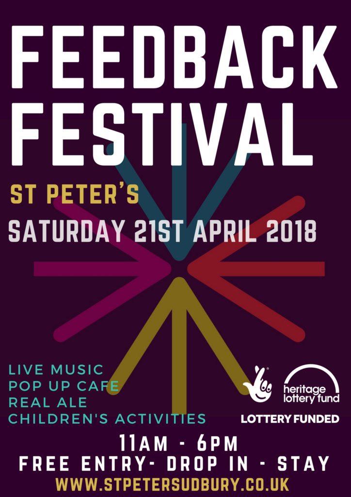 St Peter's Sudbury - Feedback Festival