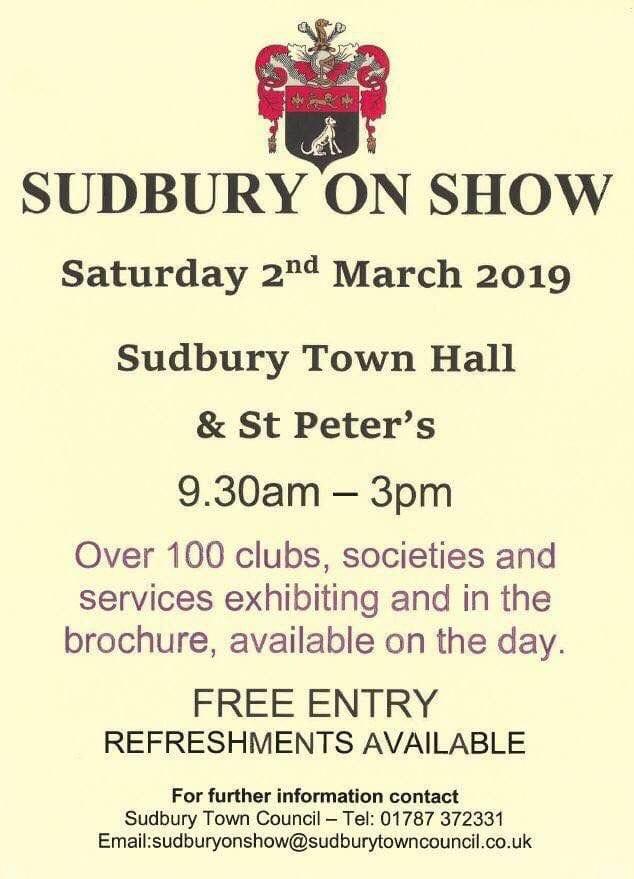 Sudbury on Show 2019