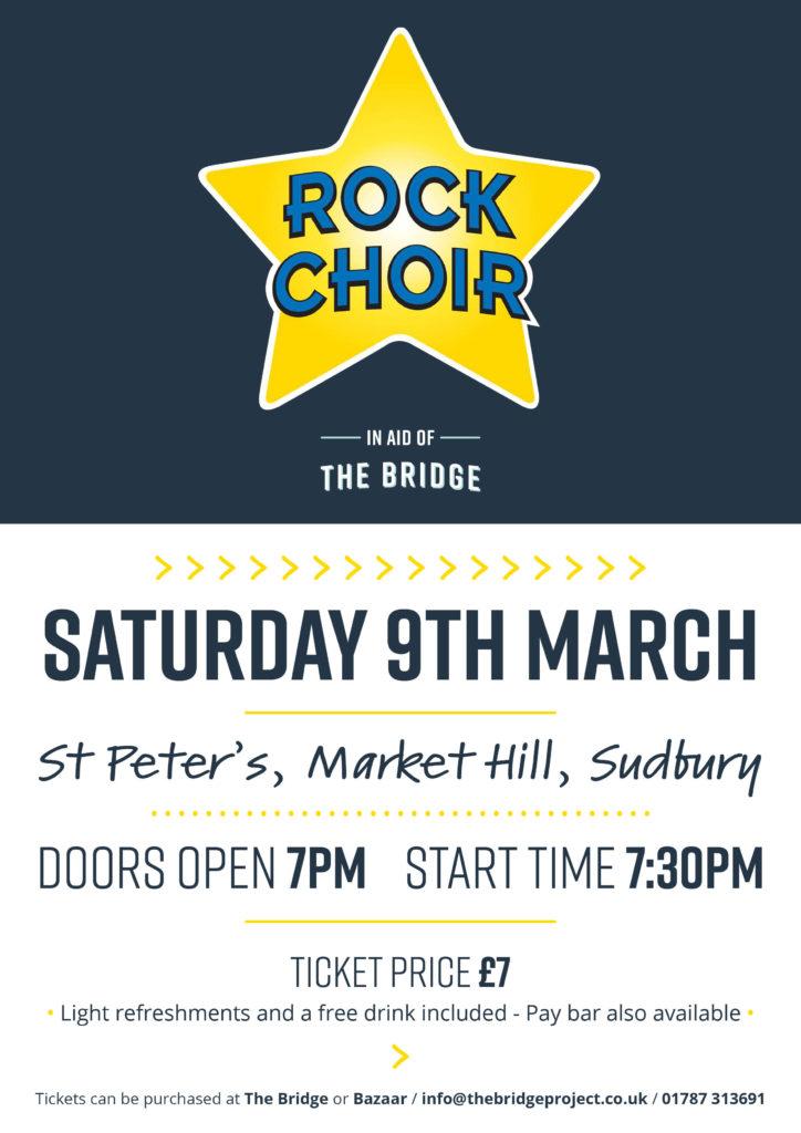 The Bridge Project - Rock Choir Concert