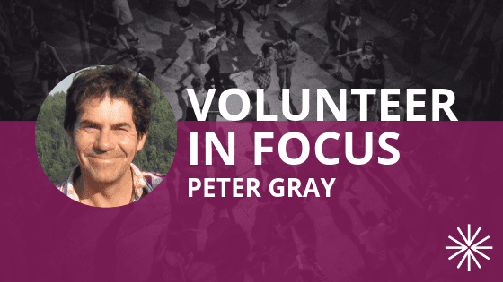 Volunteer in Focus: Peter Gray