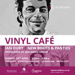 Vinyl Cafe - Ian Dury