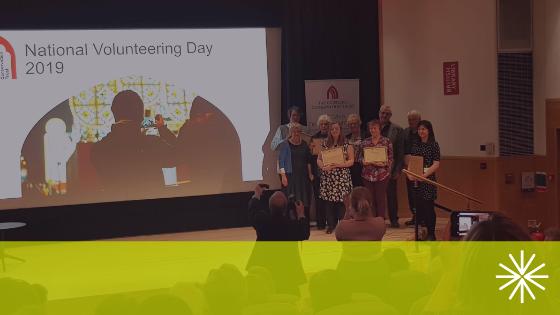 St Peter's Volunteer Wins National Award!